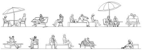 uomo seduto dwg persone sedute dwg