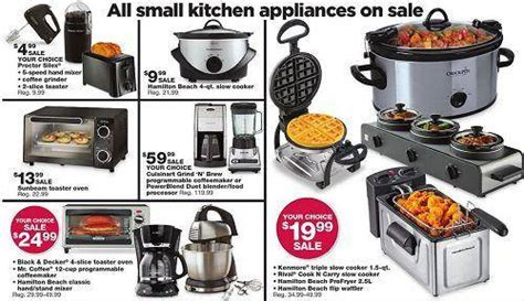 small kitchen appliances on sale sears black friday sales live online tonight