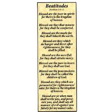 Printable Beatitudes Bookmarks | beatitudes bookmark