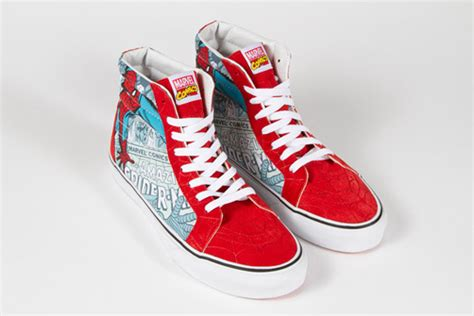 Sepatu Vans Era Marvel Comics marvel x vans classics 2013 collection flagig