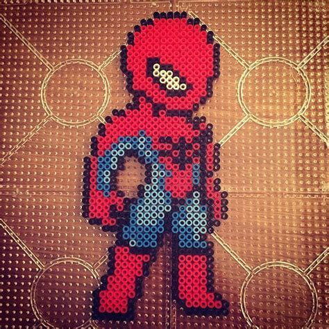 spiderman perler pattern 40 best images about knitting ideas marvel comics on