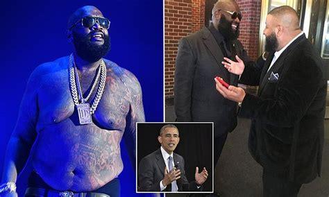 rick ross white house lol awkward and ironic moment for rick ross at the white house kpat