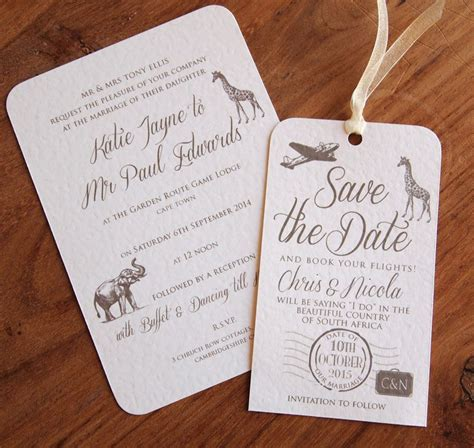 wedding card for abroad 8 awesome safari themed wedding invitations images invitations best wedding