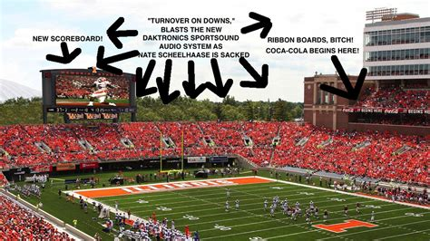 illinois s official release on stadium improvements the