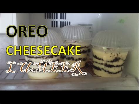 video cara membuat cheese cake lumer cara membuat oreo cheese lumer youtube