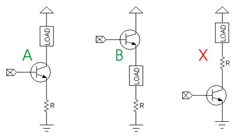 transistor base resistor calculator how to calculate the transistor base resistor value to switch a load parallax forums