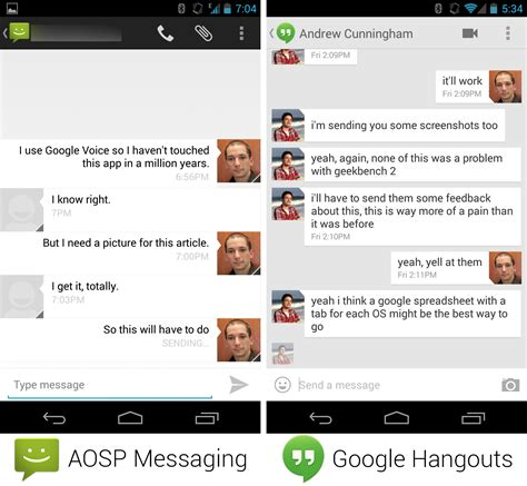 what is hangouts on android s iron grip on android controlling open source by any means necessary ars technica