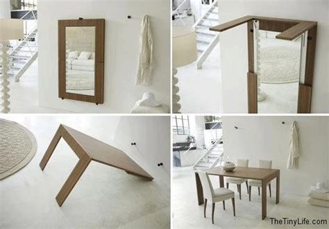 folding furniture for small houses clever space saving ideas for small spaces the tiny life
