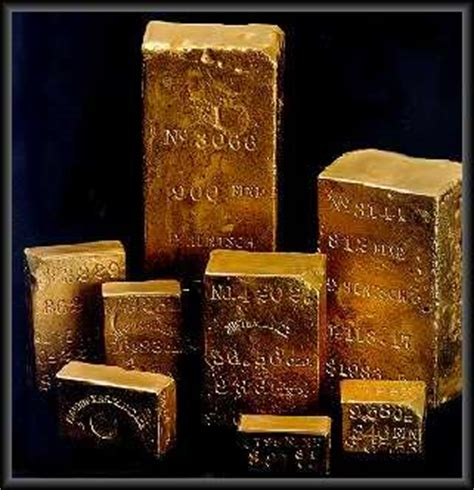 Panci Infusa gold of the s s centralamerica ingots