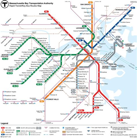 subway system map mbta subway the t gt maps schedules and fare