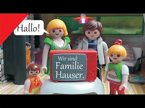 familie hauser playmobil family stories familie hauser kanaltrailer
