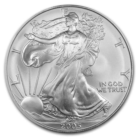 1 oz silver eagle weight 2005 american silver eagle 1 oz silver coin