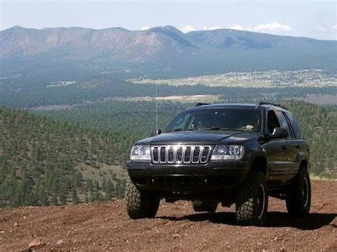 Jeep Grand With Big Tires Jeep Wj Update Lftting The Jeep And Bigger Tires