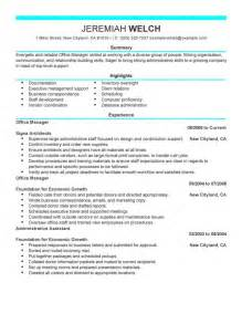 Medical Office Manager Sample Resume medical office manager resume samples office manager resume example