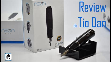 nedz tattoo pen review tattoo review m 225 quina rotativa neon pen th pro youtube