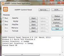 pembuatan blog dengan server lokal menggunakan xp membuat server lokal di komputer dengan xampp untuk os