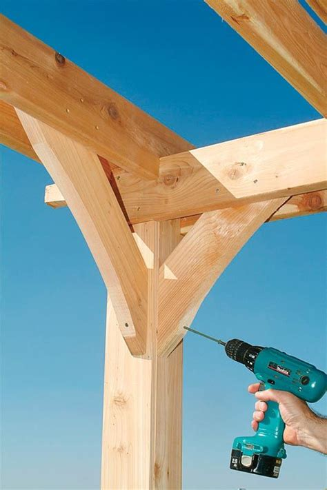 how to build a pergola step by step woodworking projects