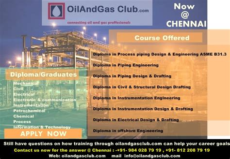 piping design engineering jobs in chennai the best oil and gas courses oil and gas training online