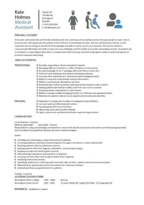 medical assistant resume sles template exles cv