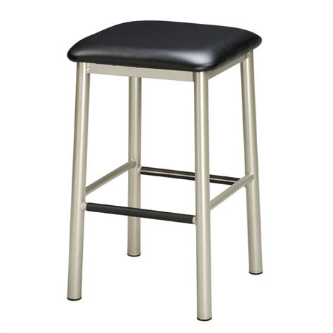 Metal Bar Stools Regal Seating Paulo 30 Quot Metal Bar Stool In Black 1174 30