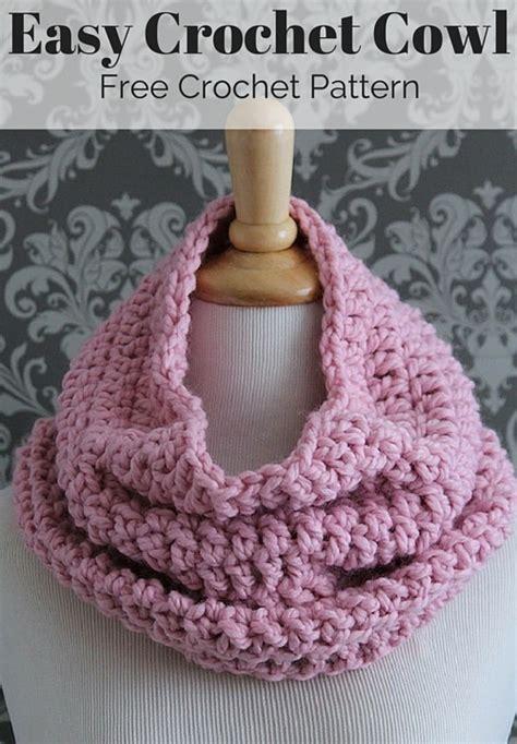 Crochet Cowl Scarf Patterns Free
