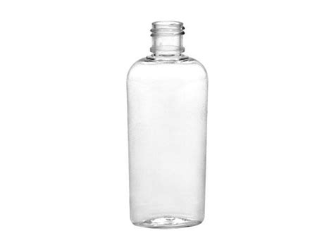 1 oz plastic bottles 1 oz clear 15 415 cosmo pet oval plastic bottle