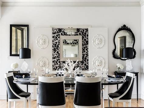 dining room black and white dining room design ideas