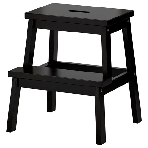 Holzschemel Ikea by Bekv 196 M Step Stool Black 50 Cm Ikea
