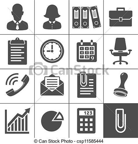 icona ufficio vettore eps di ufficio icona set ufficio icone