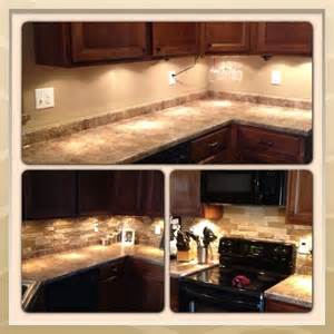 Faux Stone Kitchen Backsplash Faux Stone Backsplash Beautiful House Ideas Pinterest