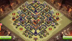 Th9 war base layout with 2 air sweeper th9 war base 2 air sweeper