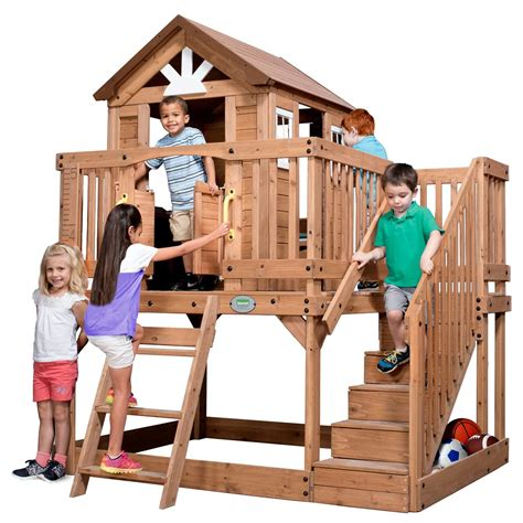 backyard discovery scenic all cedar playhouse top 20 best cool christmas gift ideas for kids heavy com