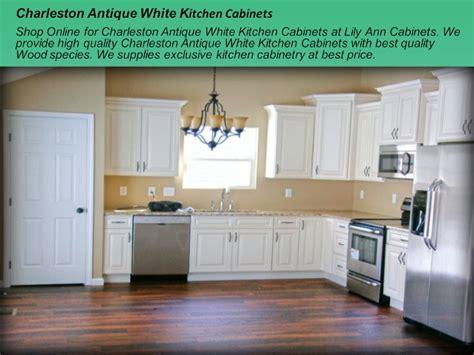 charleston antique white cabinets charleston antique white kitchen cabinets design ideas by