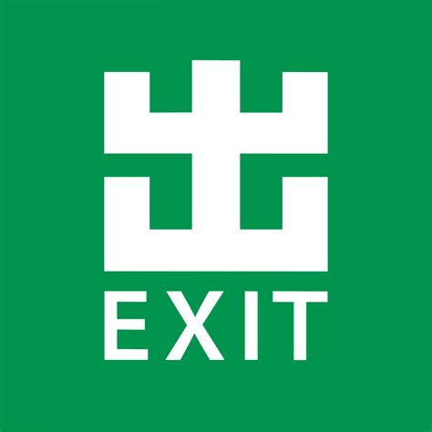 signs of an file mtr exit sign svg wikimedia commons