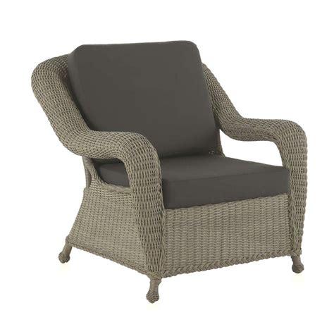 Fauteuil Rotin Exterieur fauteuil d ext 233 rieur en rotin synth 233 tique brin d ouest