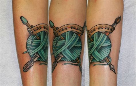 blind faith tattoo knit tattoos i like tattoos