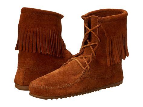 minnetonka trer ankle hi boot zappos com free