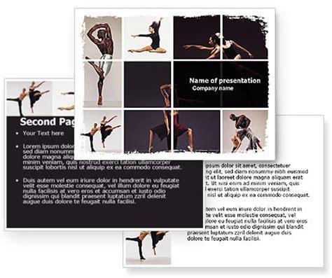 templates powerpoint dance contemporary dance powerpoint template poweredtemplate