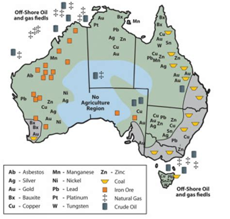 australia resource map tourism australia home