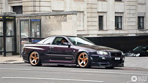Nissan Skyline R34 Gt R V Spec Midnight Purple Pearl Ii