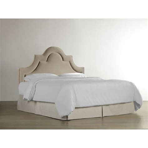 Upholstered Headboard by Nevelle Upholstered Headboard In Taupe
