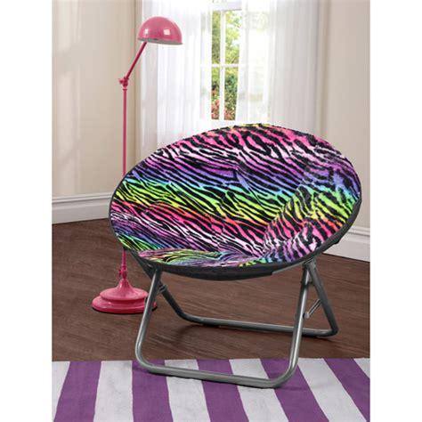 Cheap Saucer Chair by Cocoon Multi Rainbow Animal Faux Fur Saucer Chair