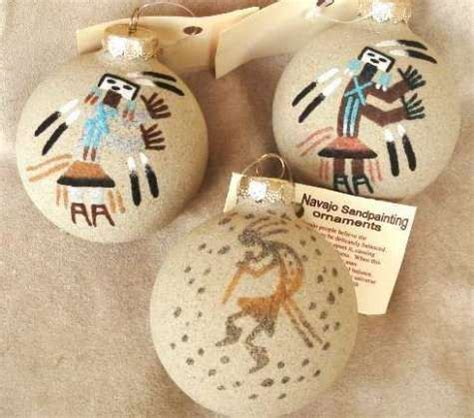 navajomade sand ornaments navajo sand painted southwest ornament rpnsporn you will these individually