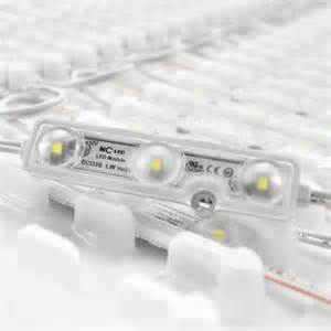 ncled eco3s lw2 ns led module white 0 72w 10000k 100 pack