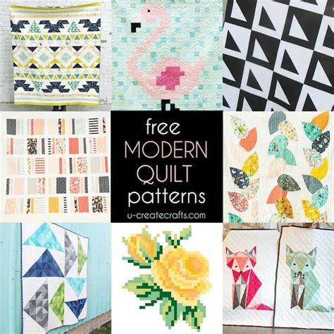 Free Modern Quilt Patterns by Free Modern Quilt Patterns U Create Bloglovin