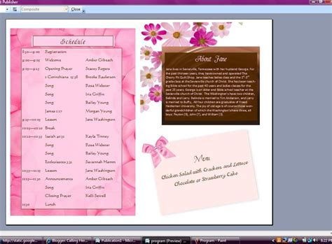 event design how to creating a event program in word developerstweet