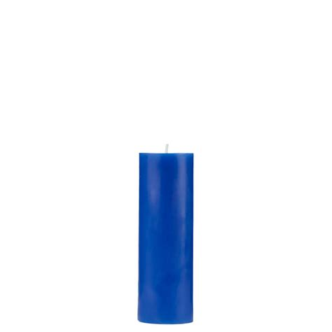 Blue Candles 2x6 Blue Pillar Candle