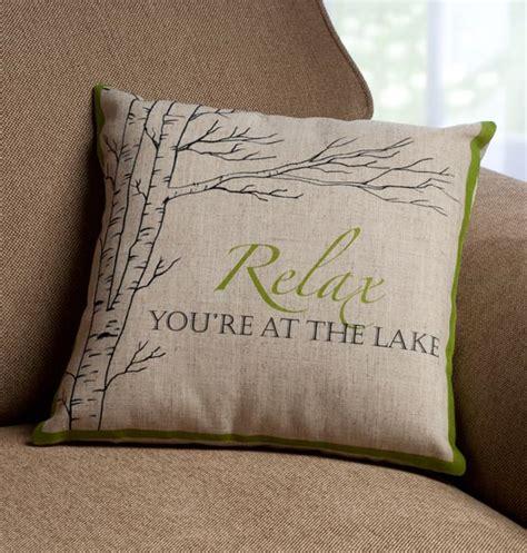 Lake House Pillows by Lake Pillow Lake House Pillow Decorative Pillow
