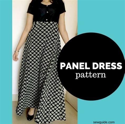 Make a PANEL DRESS  free sewing pattern & tutorial   Sew Guide