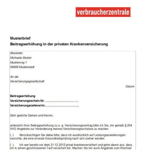 Musterbriefe Privat Verbraucherzentrale Musterbriefe Versicherungen Freeware De